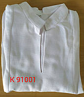 Заготівля чоловічої сорочки для вишивання з довгим рукавом, фото 1