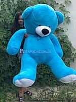 Большой плюшевый мишка Томми 150 см голубой