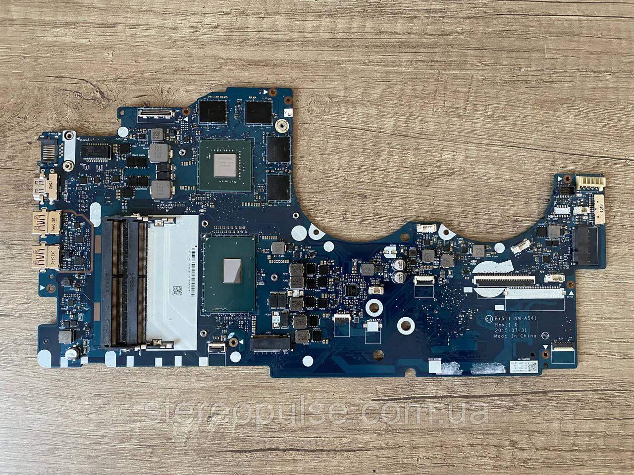 Материнская плата BY511 NM-A541 (Rev: 1.0) для ноутбука Lenovo Y700