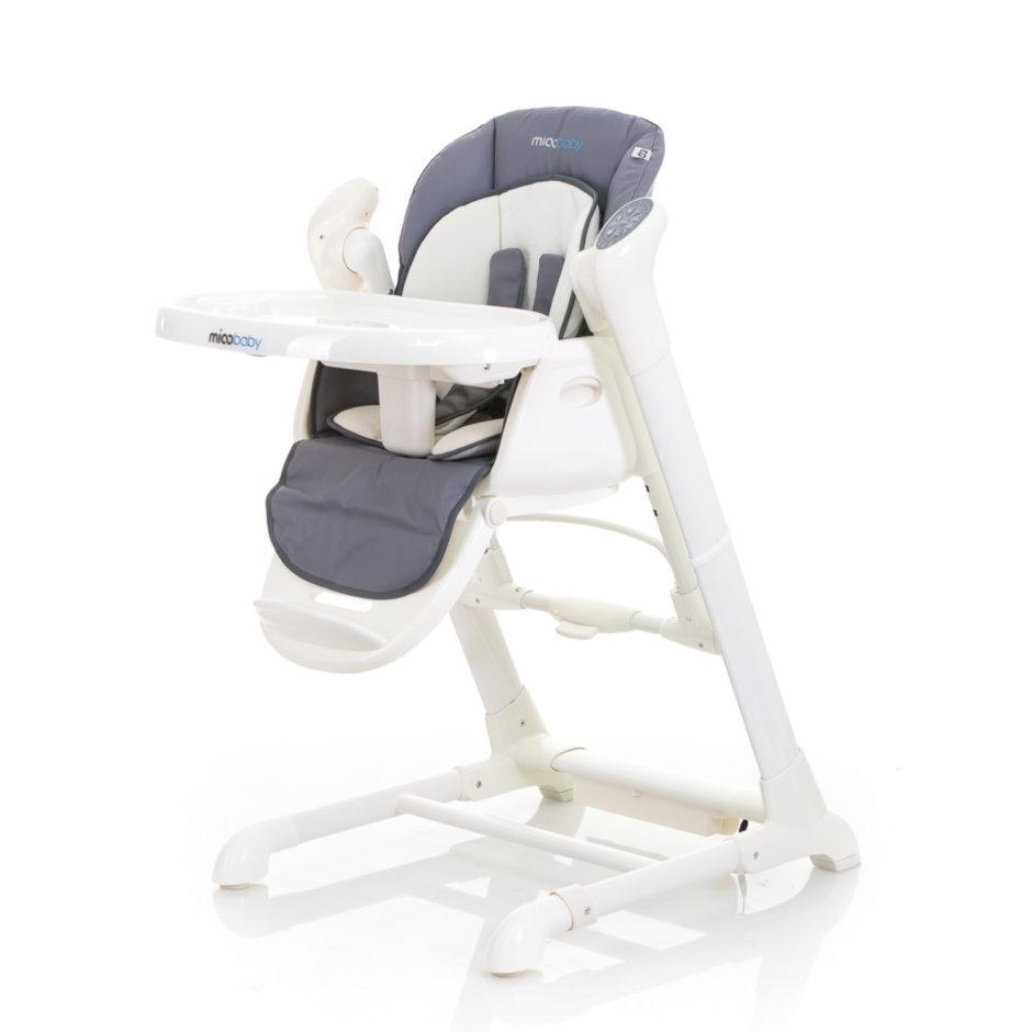 Детский стул-качалка Mioobaby Jazz HC818 grey