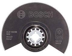 Биметаллический сегментированный пильный диск Bosch ACZ 100 BB Wood and Metal