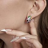 Серебряное кольцо с эмалью, фото 6