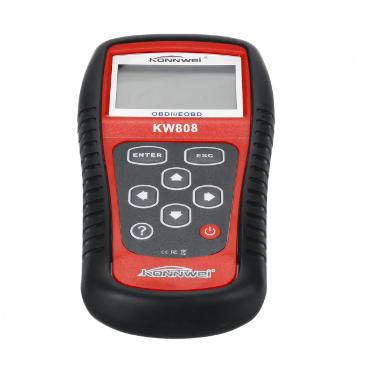 KONNWEI KW808 OBD2 Сканер-декодер Автомобильный Двигатель Диагностика неисправностей