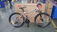 """Горный велосипед 26 дюймов Crosser Trinity рама 17"""" GREY, фото 2"""