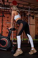 Спортивные Женские утягивающие Леггинсы Asalart Cotis White