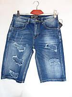 """Мужские джинсовые шорты (29-36) """"Warrior"""" LZ-1372"""