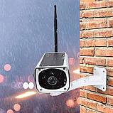Камера видеонаблюдения  IP CAMERA CAD F20 \ 2mp \ solar WI-FI с солнечной батареей, фото 4