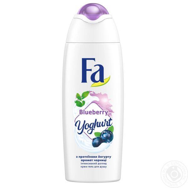 Гель для душа Fa Фа Yoghurt Черника и Протеины йогурта 250 мл