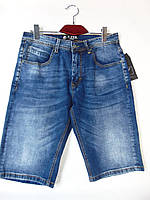 """Мужские джинсовые шорты (30-38) """"Warrior"""" LZ-1372"""
