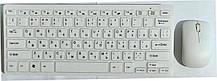 """Клавіатура безпровідна + мишка """"K-03"""" White, фото 2"""