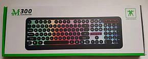 """Клавіатура безпровідна """"M-300"""" з підсвіткою, фото 2"""
