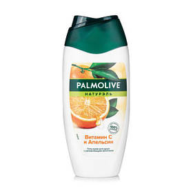 Гель-крем для душа Palmolive Натурэль Витамин С и Апельсин, с увлажняющим молочком, 250 мл