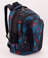 Школьный рюкзак стильный RANEC, ортопедическая спинка 37*23*12см