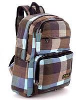 Школьный рюкзак тканевый молодежный RANEC, 42*29*13см
