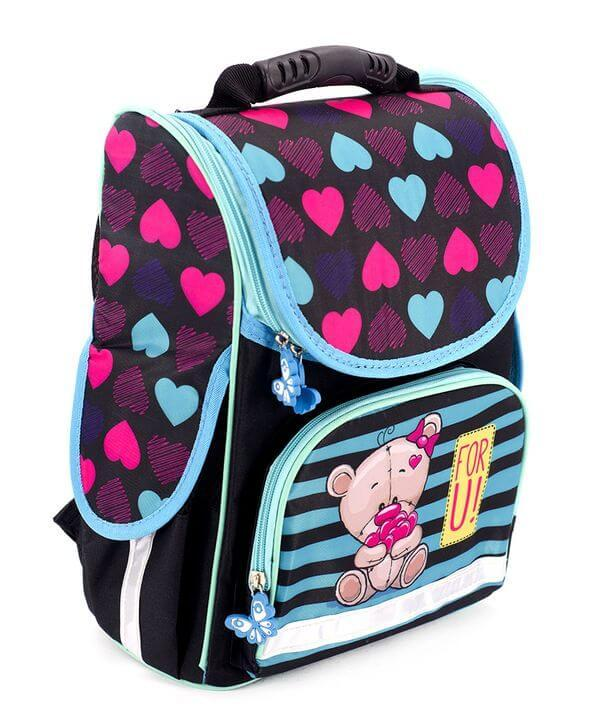 Школьный рюкзак короб Smile, ортопедическая спинка 35*25*13см