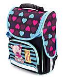 Школьный рюкзак короб Smile, ортопедическая спинка 35*25*13см, фото 2
