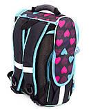 Школьный рюкзак короб Smile, ортопедическая спинка 35*25*13см, фото 4