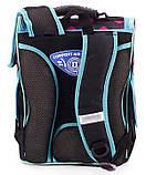 Школьный рюкзак короб Smile, ортопедическая спинка 35*25*13см, фото 5