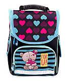 Школьный рюкзак короб Smile, ортопедическая спинка 35*25*13см, фото 6