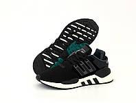 Мужские кроссовки Adidas EQT SUPPORT 91/18 черно-белые
