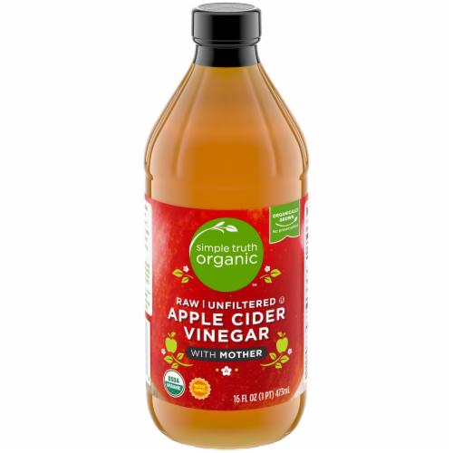 Simple Truth® Organic Apple Cider Vinegar Raw 5% Яблучний оцет натуральний органічний з м'якоттю 473 мл