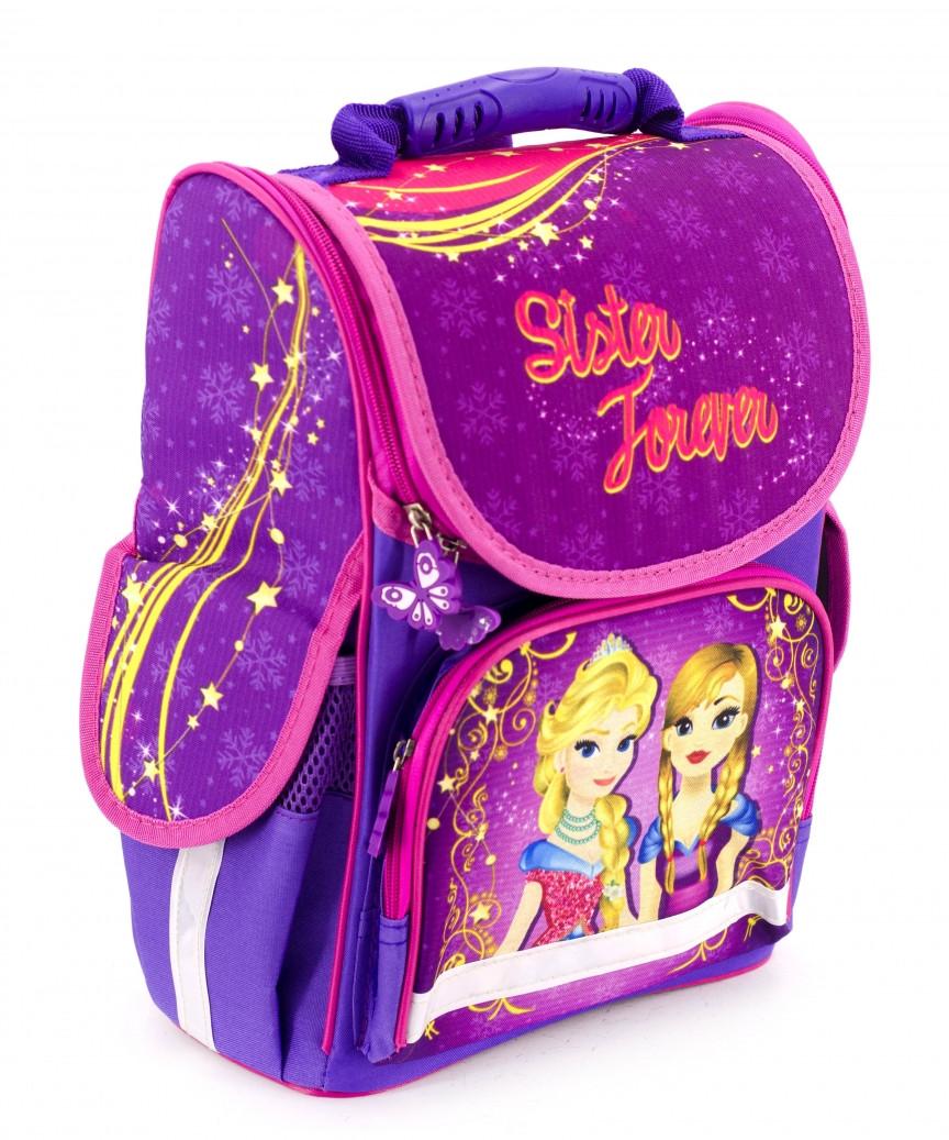 Шкільний рюкзак короб Smile, ортопедична спинка 35*25*13см