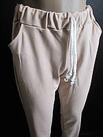 Штаны трикотажные с манжетом