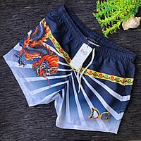 Мужские пляжные шорты с крутым рисунком S M L XL XXL короткие шорты реплика