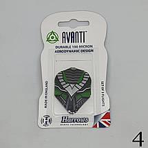 Оперение для дротиков дартс Avanti Harrows 6 штук, фото 3