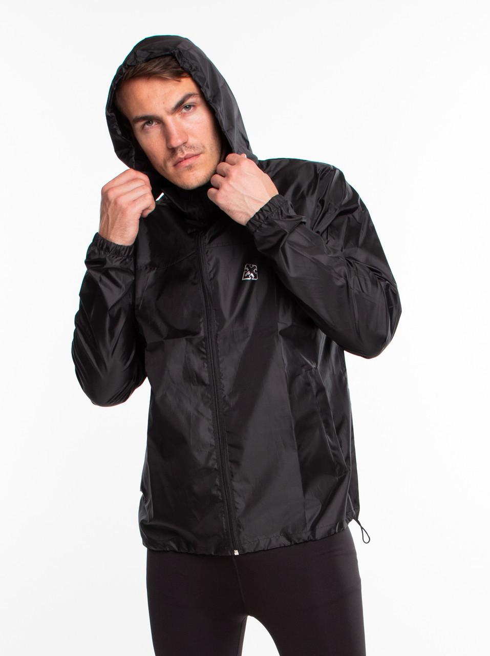 Ветровка-дождевик мужская Radical Flurry, с капюшоном, легкая водонепроницаемая куртка