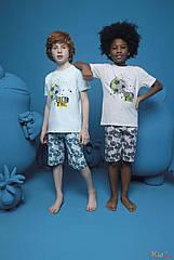 ОПТОМ Пижама шорты и футболка с мячом для мальчика 10-11 лет (10-11 лет)  Donella 8697840566807