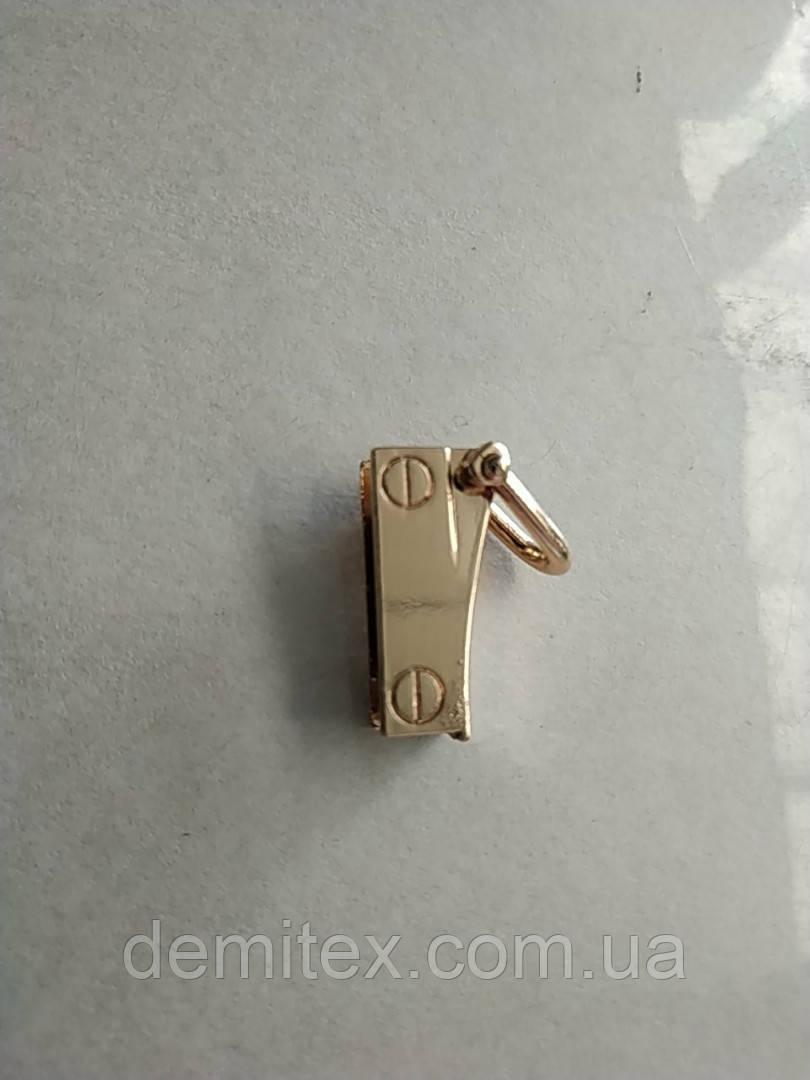 Ручкодержатель боковой на винтах золото