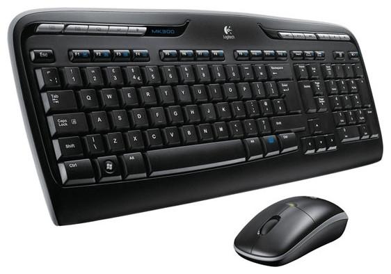 Комплект Logitech  Wireless Desktop MK330