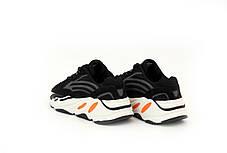 Женские кроссовки Adidas Yeezy Boost 700 V2 Black/White, фото 2