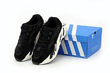 Жіночі кросівки Adidas Yeezy Boost 700 V2 Black, фото 3