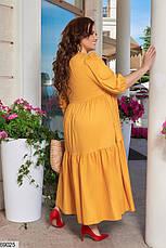 Платье женское летнее длинное размеры: 48-66, фото 2