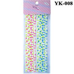 Наклейки для Ногтей Слайдеры для Дизайна Цветные YK-008, Дизайн Ногтей, Декор Ногтей