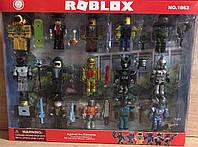 Игровой набор фигурок Roblox Роблокс арт. 200589441, 15 персонажей, оружие, аналог