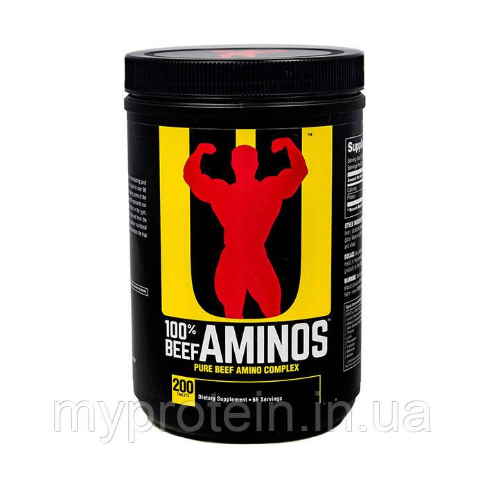 Universal Говяжьи аминокислоты 100% Beef Aminos (200 tabs)