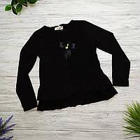 Блуза подросток Marions Рост 128  черный