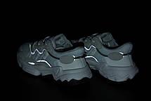 Женские кроссовки Adidas Ozweego White/Gray/Black, фото 2