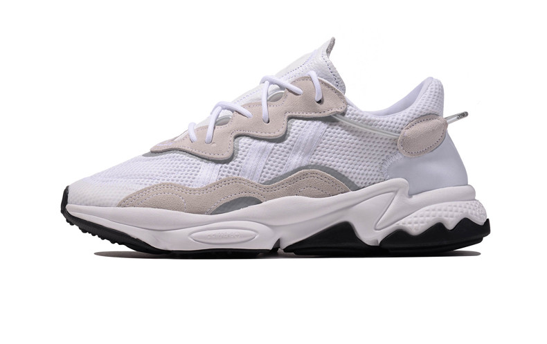 Женские кроссовки Adidas Ozweego White/Gray/Black