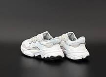 Жіночі кросівки Adidas Ozweego White/Gray/Black, фото 3