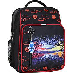 Школьный рюкзак 8 л.черный 417 (0012870)