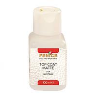 Лак для шкіри матовий Top Coat Matte, 100 мл