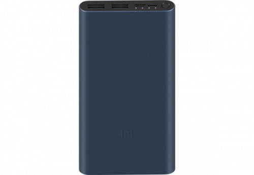 Дополнительная батарея Power Bank Xiaomi Original  Bank 3 PLM13ZM 10000mAh Black (VXN4274GL/VXN4260CN)