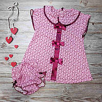 Платье для девочки трусики на памперс