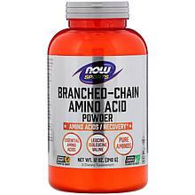 """Аминокислоты с разветвленной цепью NOW Foods, Sports """"Branched Chain Amino Acid Powder"""" в порошке (340 г)"""