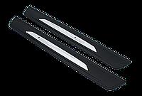 Накладки на пороги BMW M-Performance 5й серии F10 ( с подсветкой )