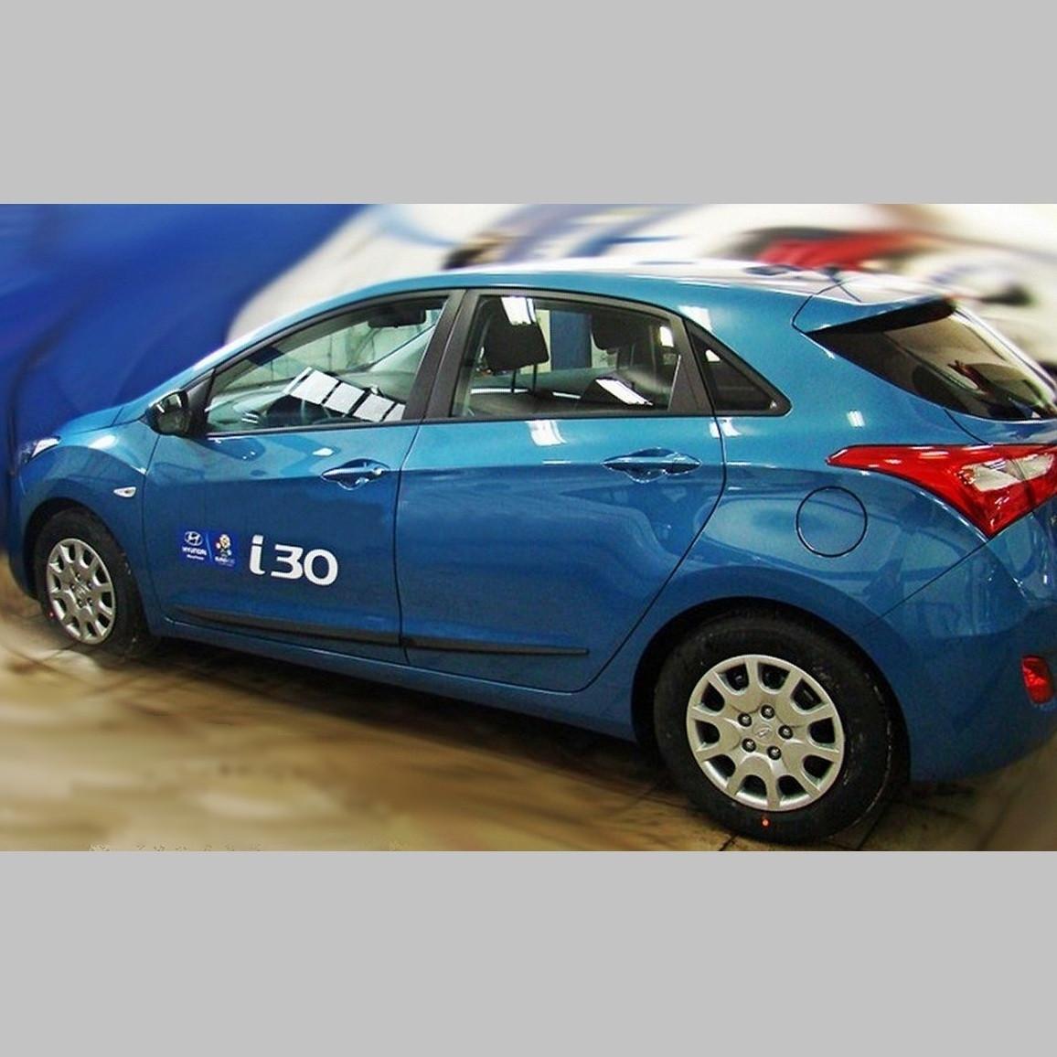 Молдинги на двері для Hyundai i30 GD 5Dr 2011-2017